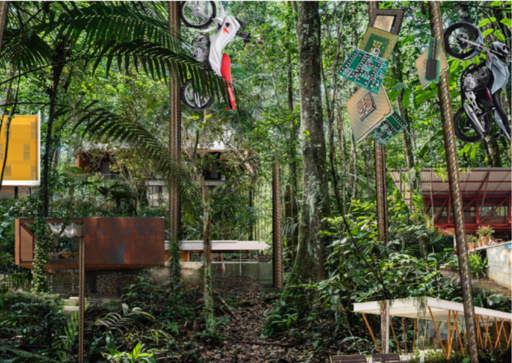 A proposta do NAMA expõe arquiteturas em Manaus que valorizam os recursos humanos e as tecnologias disponíveis na metrópole da Amazônia